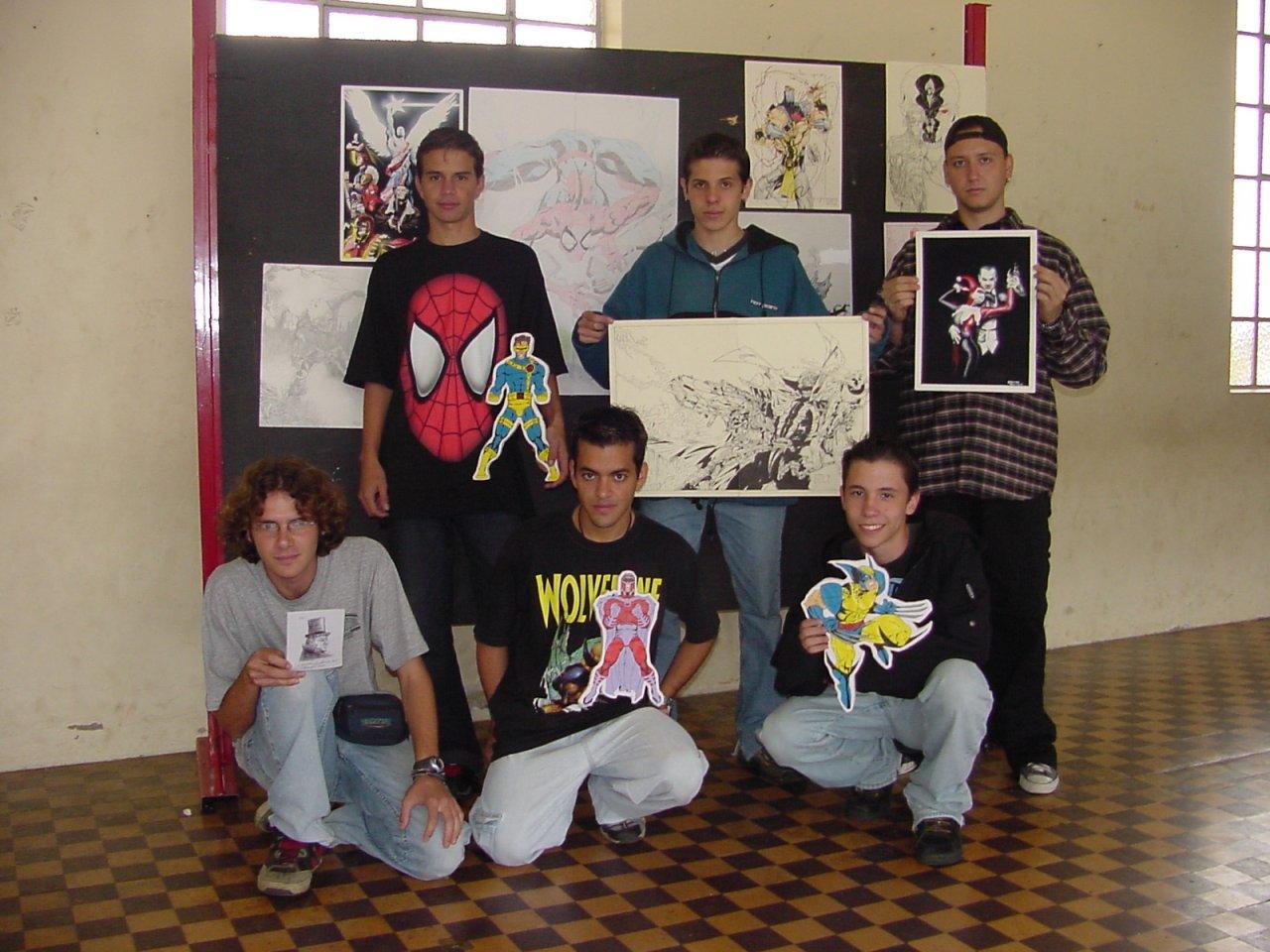 Jaguariúna chegou ter um movimento de divulgação de desenhos em diferentes estilos (Fotos Gislaine Mathias)