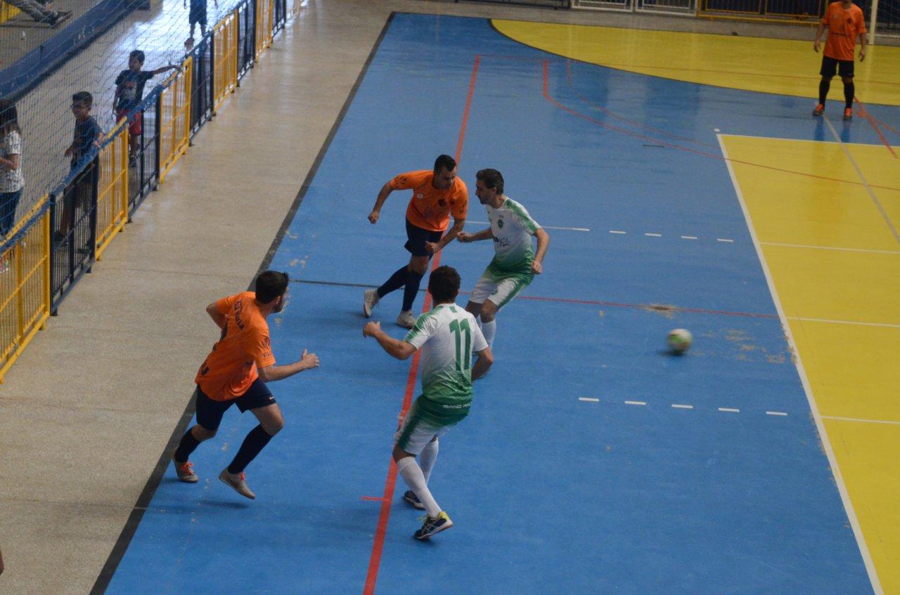 Uma das semifinais teve o clássico entre Vila Nova e Olímpico