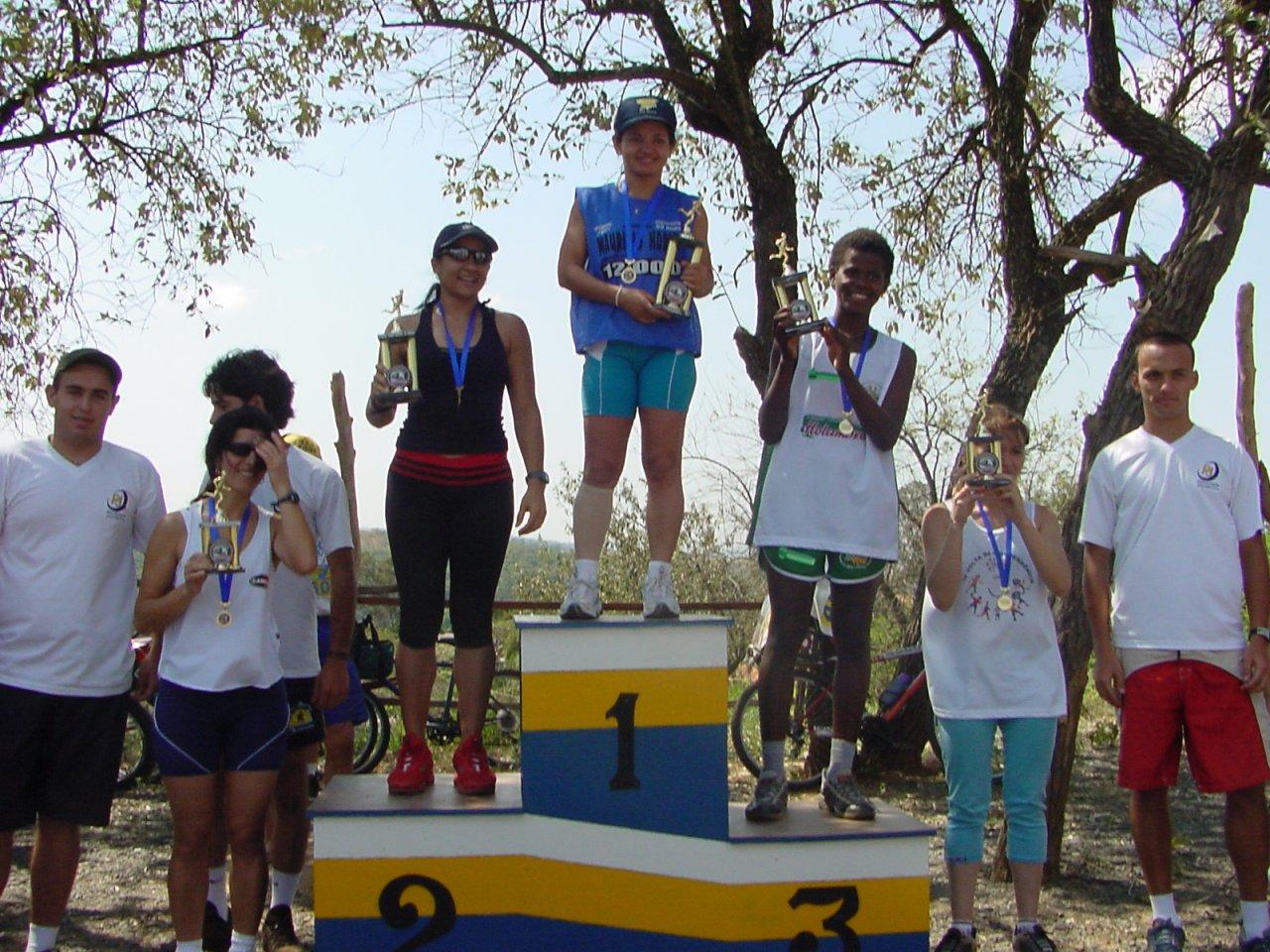Elisangela surpreendeu durante a prova e chegou em 1º lugar