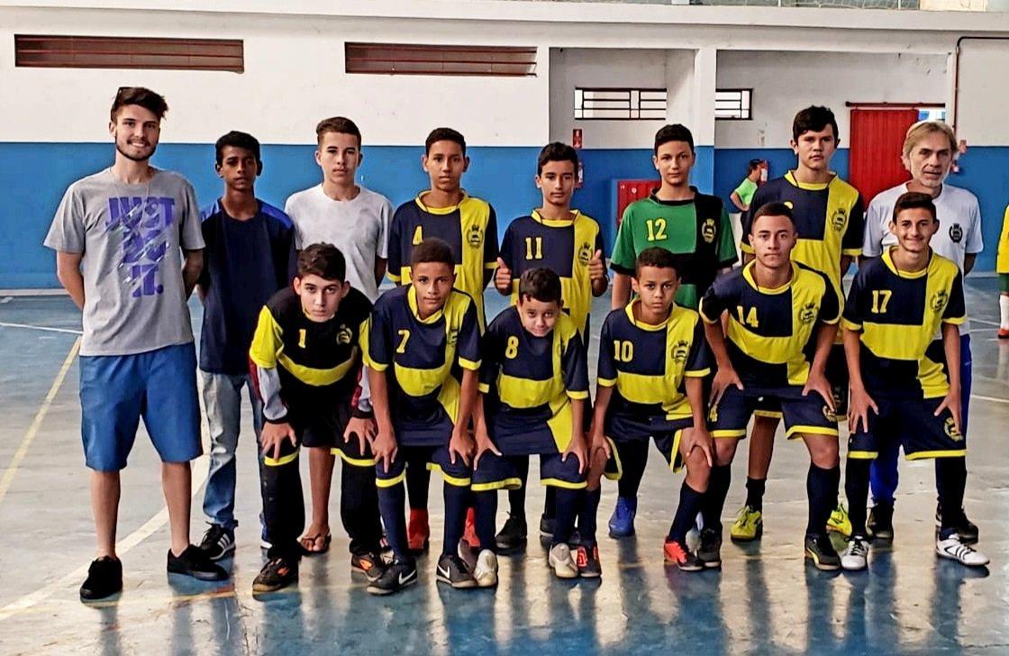 Futsal de Jaguariúna venceu o jogo de goleada por 13 a 0