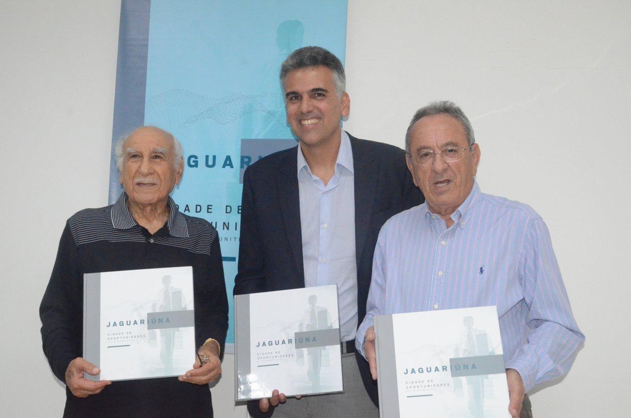 Maurício Hossri, Gustavo Reis e Tarcisio Chiavegato: três prefeitos de Jaguariúna em diferentes épocas