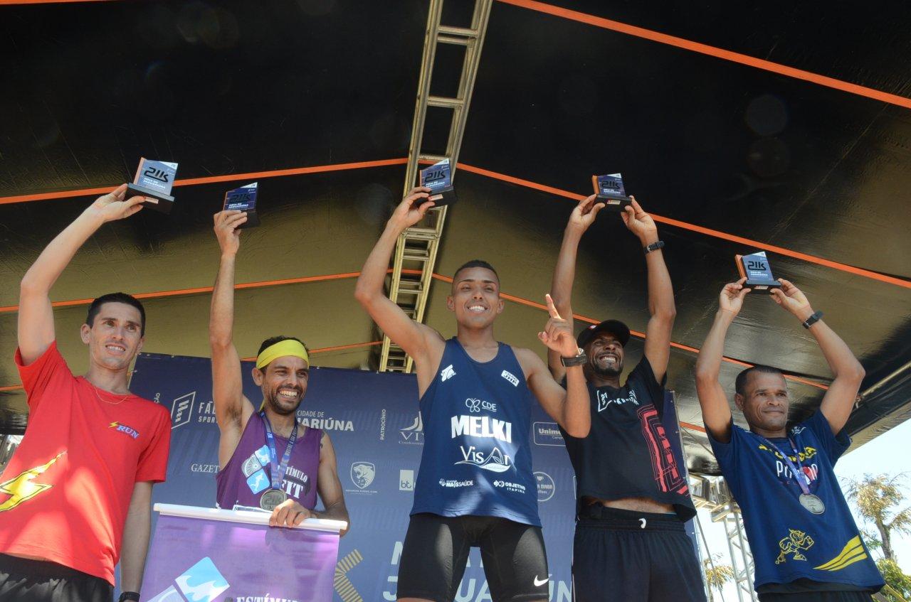 Donisete Leão concluiu os 21k em 4º lugar