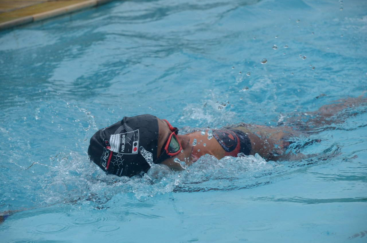 Competição movimentou a piscina do Parque Serra Dourada; e Marina ficou entre os destaques