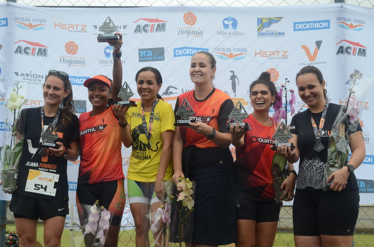 Marina fez dupla com Juliana e terminou em 2º lugar no revezamento feminino