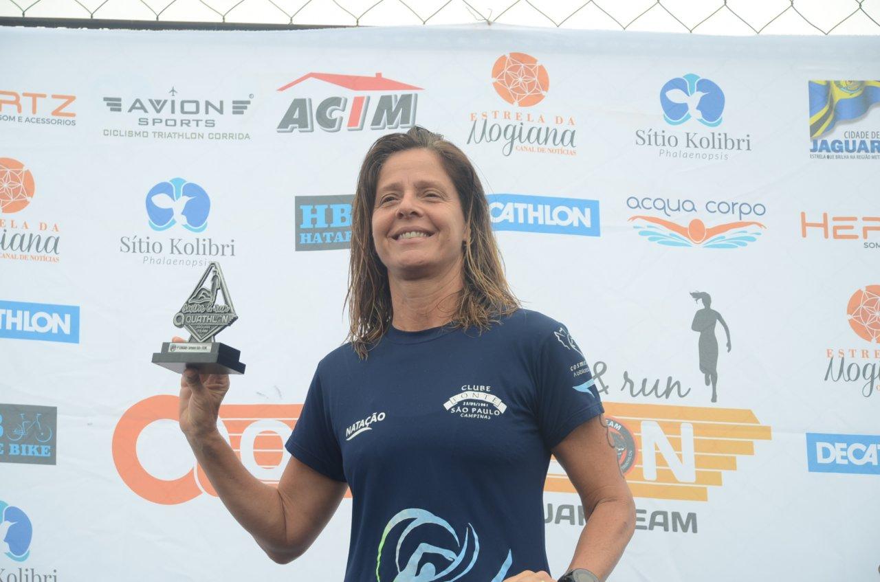 Maria Cecília concluiu o percurso em sua categoria