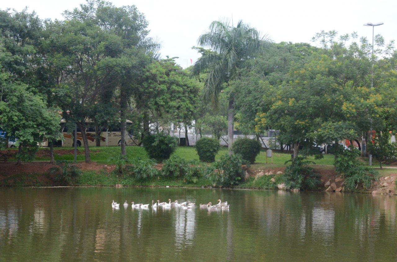 Parque dos Lagos é um local de lazer e combate ao estresse