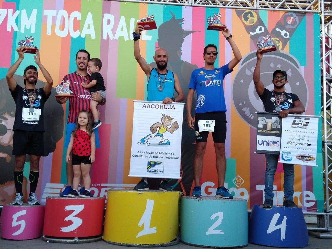 Josiclei subiu no pódio em 1º lugar na sua categoria