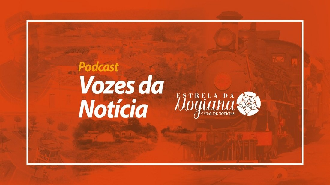 Logo do Podcast Vozes da Notícia
