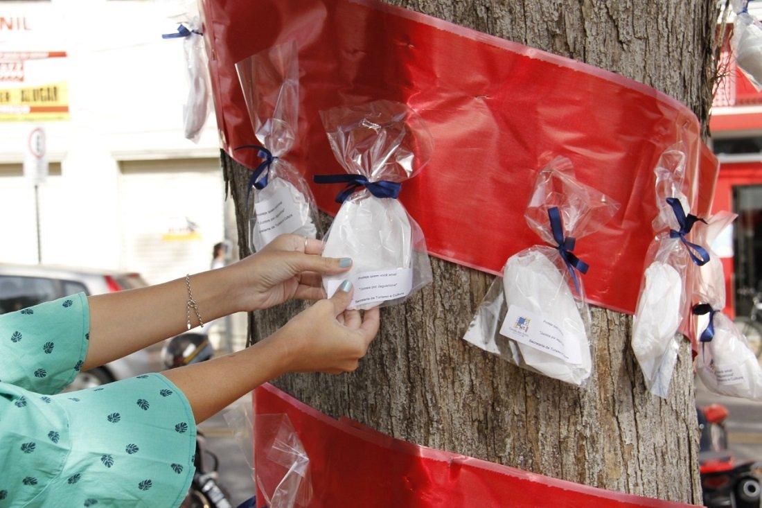 Ação pretende ajudar as pessoas mais carentes na proteção contra o coronavírus (Foto Ivair Oliveira)