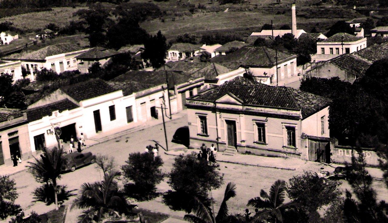 Foto mostra Jaguariúna do passado e está no especial de aniversário da cidade (Foto Casa da Memória)
