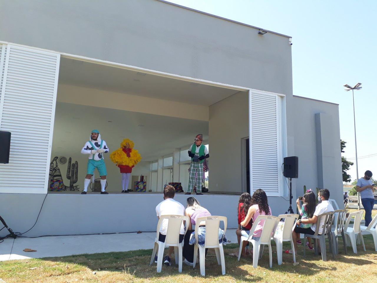 Peça foi a primeira atração no Boulevard no Centro Cultural