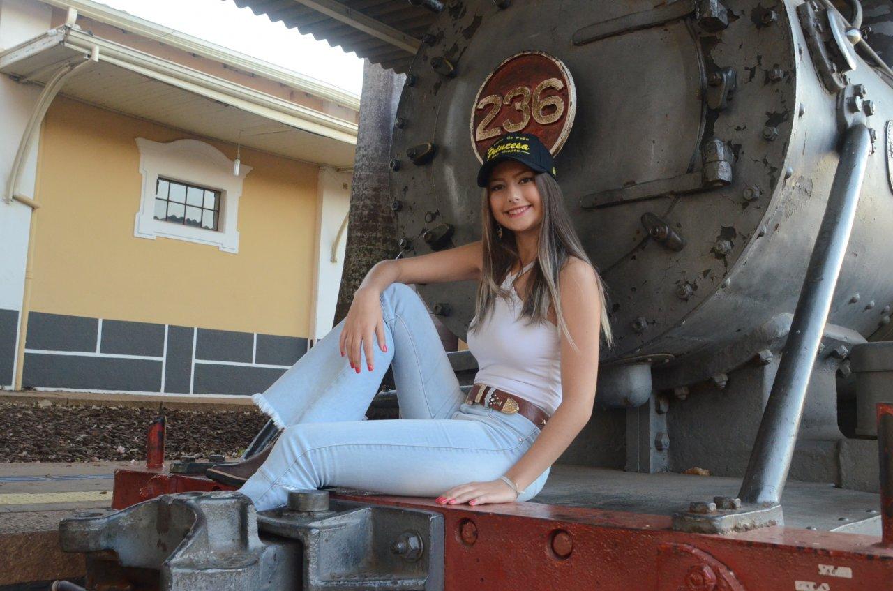 Maria Eduarda foi eleita Princesa do Rodeio de Jaguariúna de 2019 (Fotos: Gislaine Mathias)