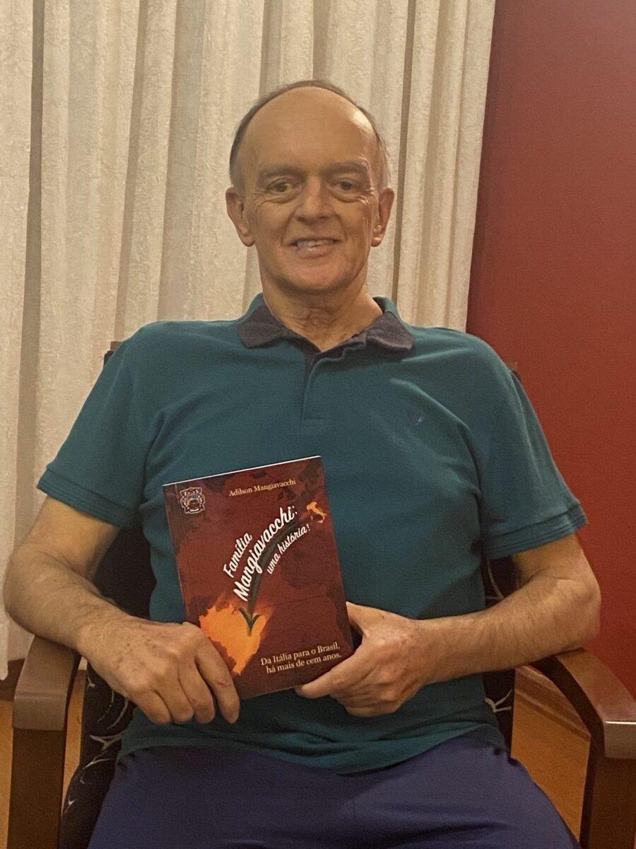 livro resgata momentos importantes da história de uma família italiana