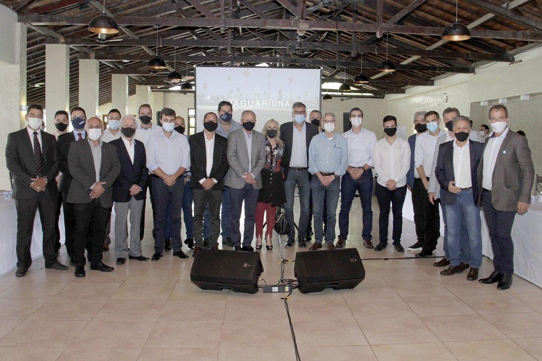 Primeira reunião do Conselho da RMC contou com a maioria dos prefeitos da região