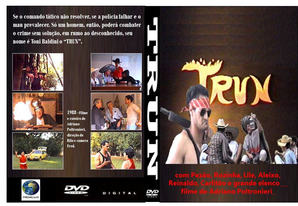 Capa do primeiro filme produzido por jaguariunenses