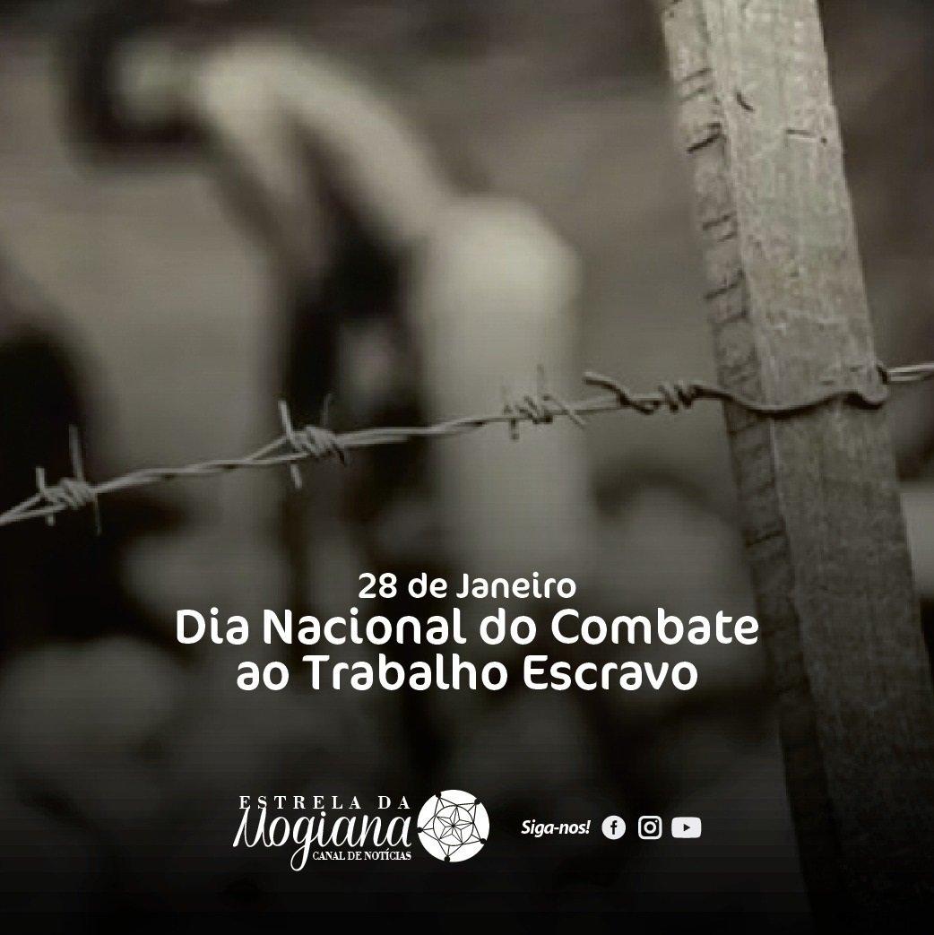 Imagem alusiva ao combate do trabalho escravo