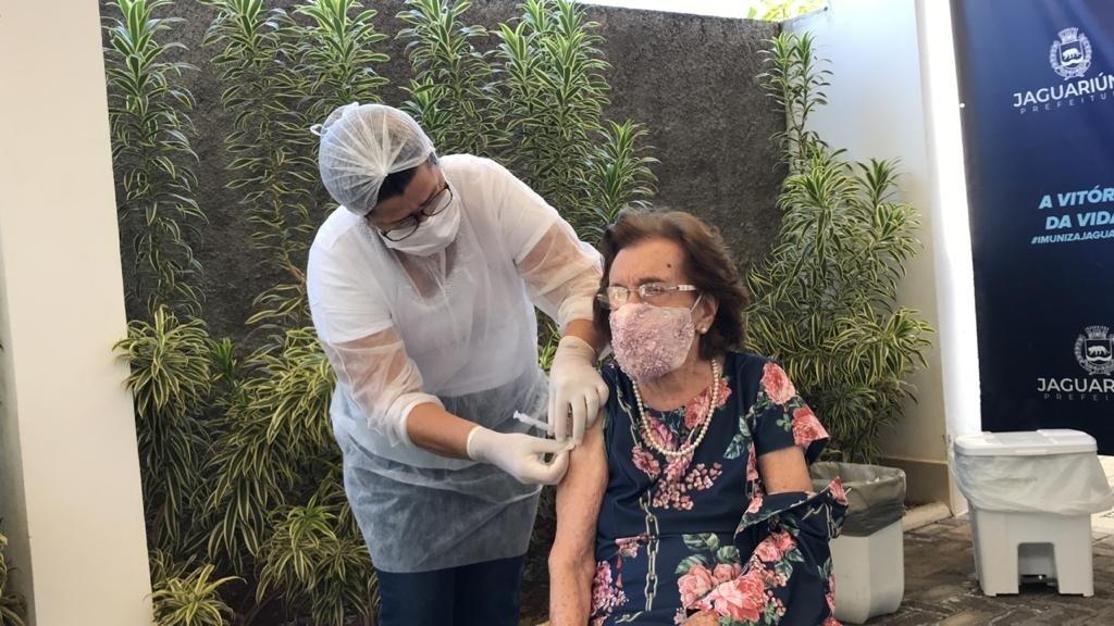 Saúde de Jaguariúna inicia nova fase de vacinação
