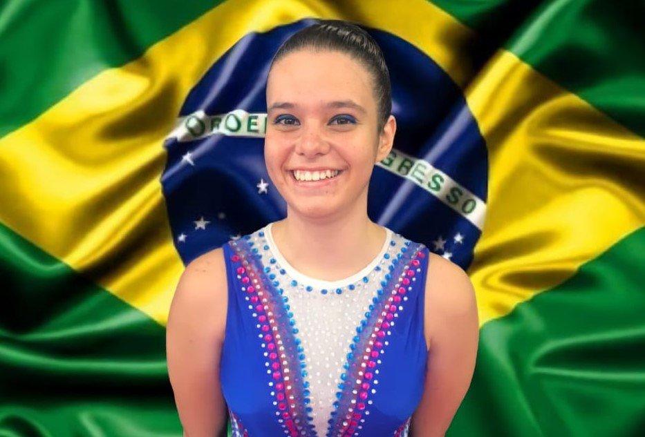 Emily foi medalha de ouro na categoria Mayores 2004