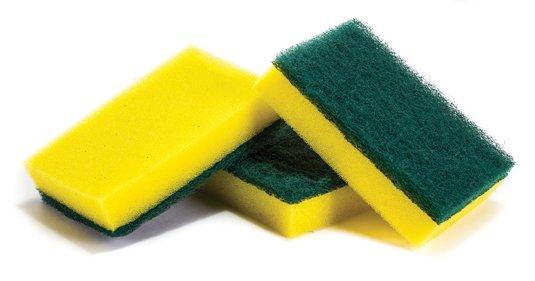 Esponjas podem ser recicladas de maneira bem simples