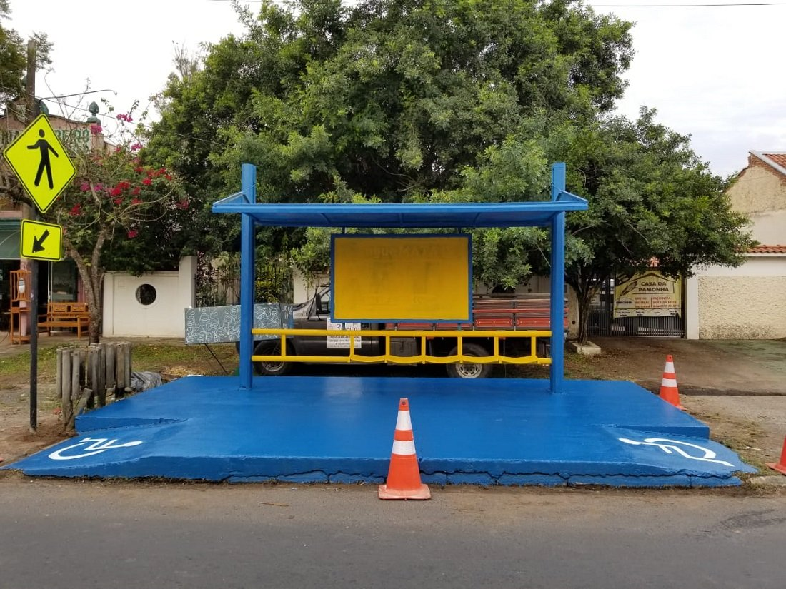 Pontos estão sendo revitalizados e novos abrigos construídos em Jaguariúna
