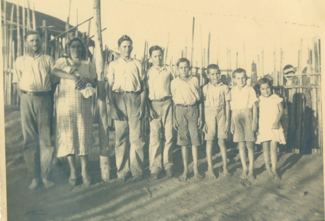 Fontanella foi uma das famílias que chegaram no distrito com a imigração e fixou residência (Acervo Casa da Memória Padre Gomes)