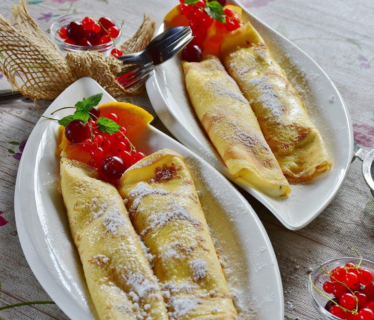 Panqueca é uma das receitas mais antigas e surgiu na França