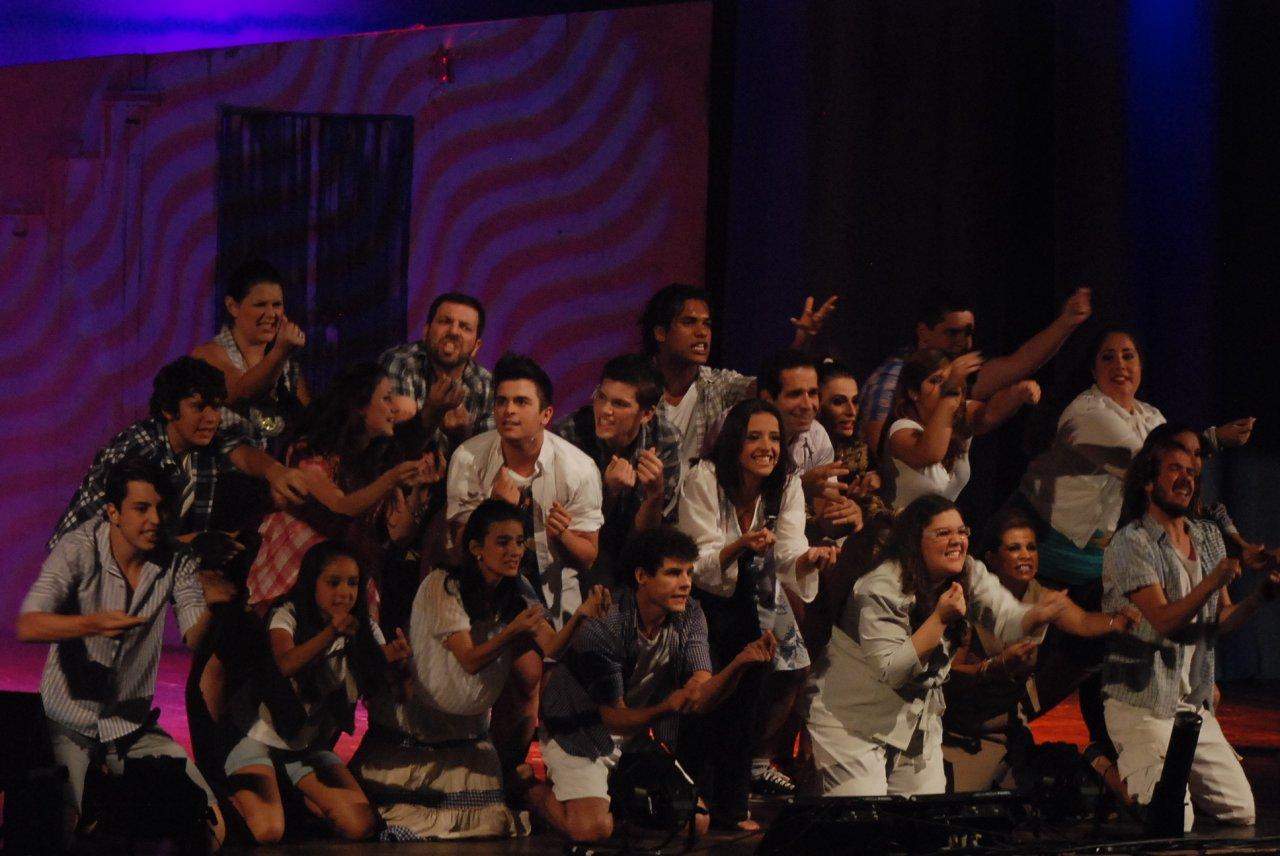 Geísa no musical Mamma Mia, sucesso em Jaguariúna e no Teatro de Paulínia