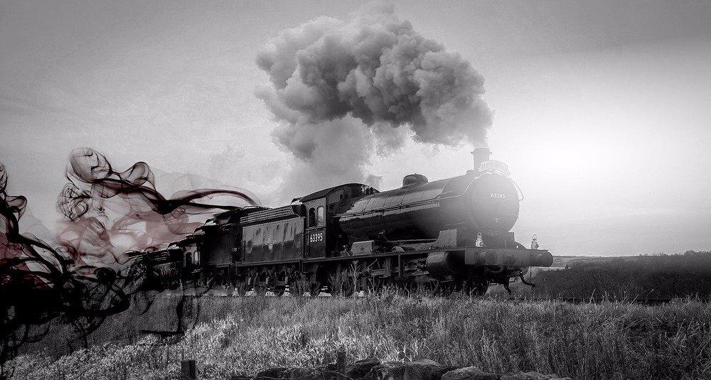Trem noturno era conhecido como trem fantasma