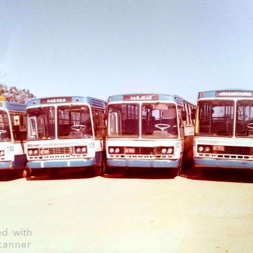 Frota de ônibus percorria cinco bairros da cidade de Jaguariúna (Foto acervo pessoal)