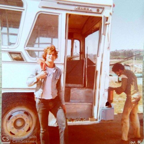 Divaldo resolveu investir e apostar no transporte coletivo e foi um visionário e empreendedor (Foto acervo pessoal)
